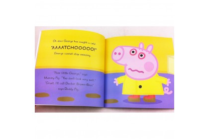 Peppa Pig : George Catches a Cold StoryBook