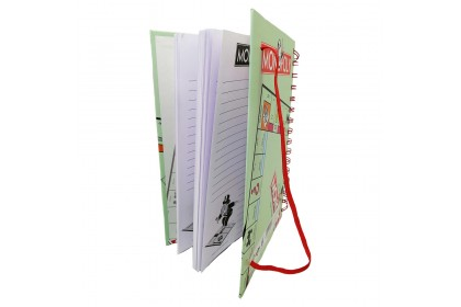 Monopoly Hard Cover NoteBook