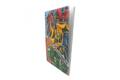 Transformers 80PP A5 Wire O Notebook