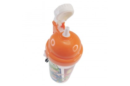 Boboiboy Galaxy Mission PP Water Bottle With Straw (350ml)