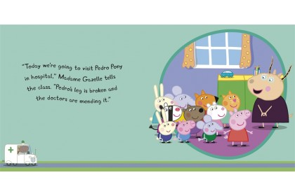 Peppa Pig : Peppa Goes to Hospital Storybook