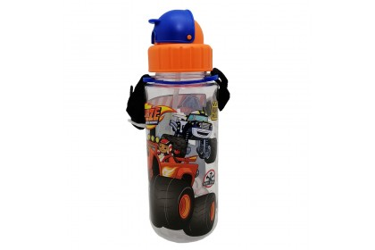 BLAZE MONSTER MACHINES 500ML TRITAN BOTTLE WITH STRAW * BPA FREE
